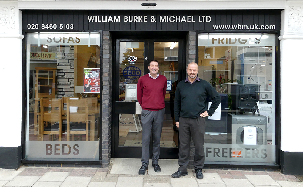 Furniture Shops in Bromley William Burke & Michael