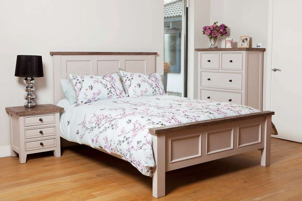 Furniture Bromley Wellington Bedroom Cotton White